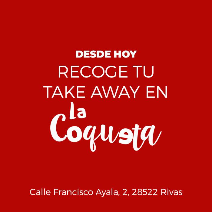 Recoge ahora en La Coqueta